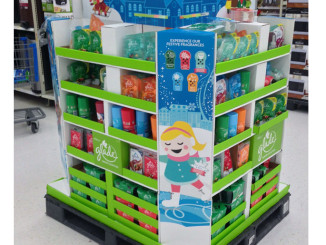 Glade Holiday Fragrance Pallet Display