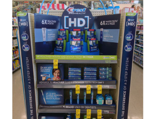 Crest HD End Cap Display