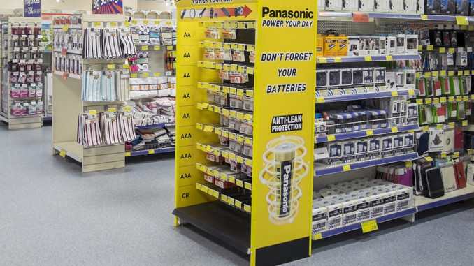 Panasonic Power Your Day End Cap Display