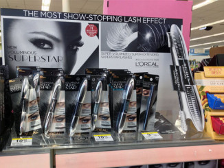 L'Oreal Superstar Shelf Display