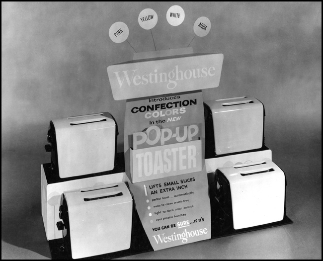 Westinghouse Toaster Display