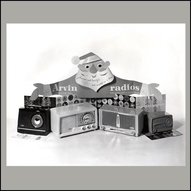 Arvin Radios Display