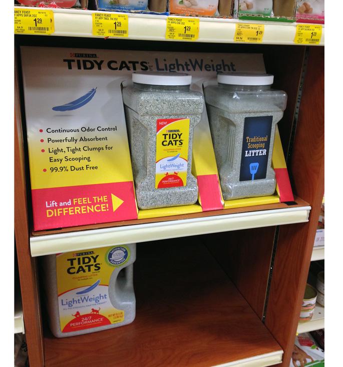 Tidy Cat Shelf Tray