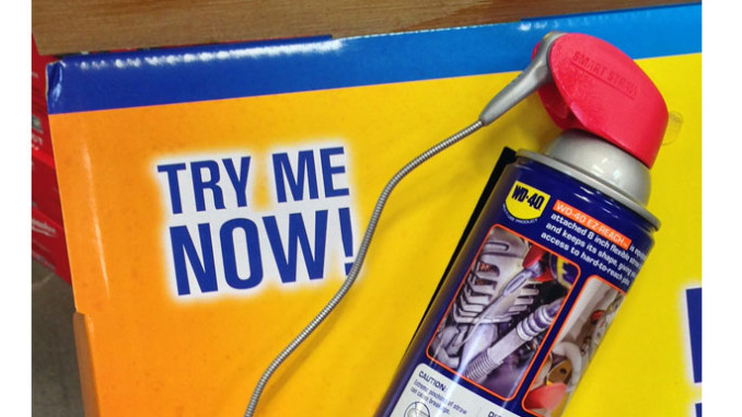 WD-40 Floor Stand Display