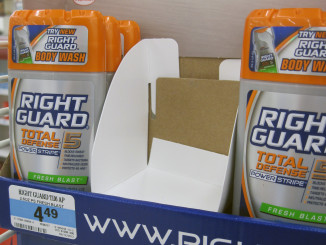 Right Guard Paperboard Divider