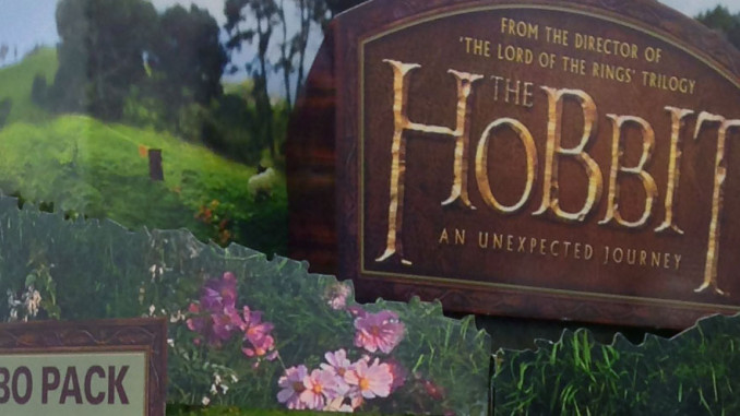 The Hobbit: An Unexpected Journey Floor Display