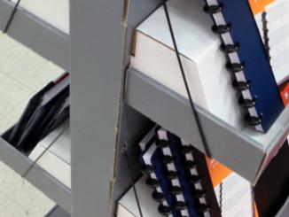 Office Supplies Floor Display