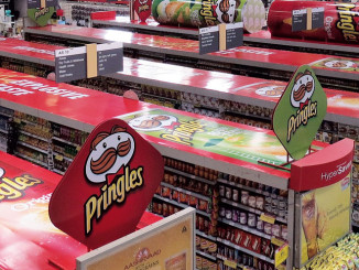 Pringles Retail Shelf Display