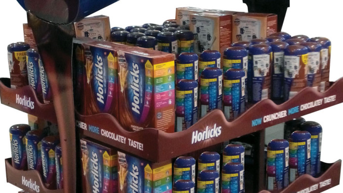 Horlicks Floor Display