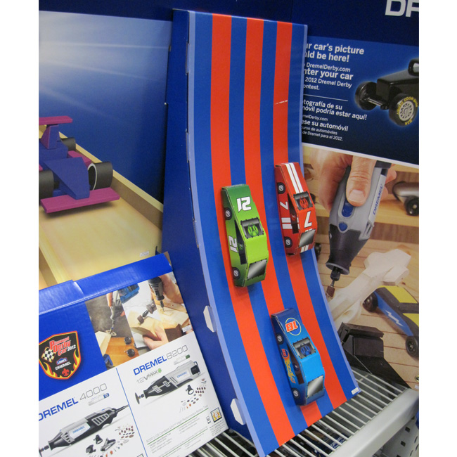 Dremel Pinewood Derby End Cap