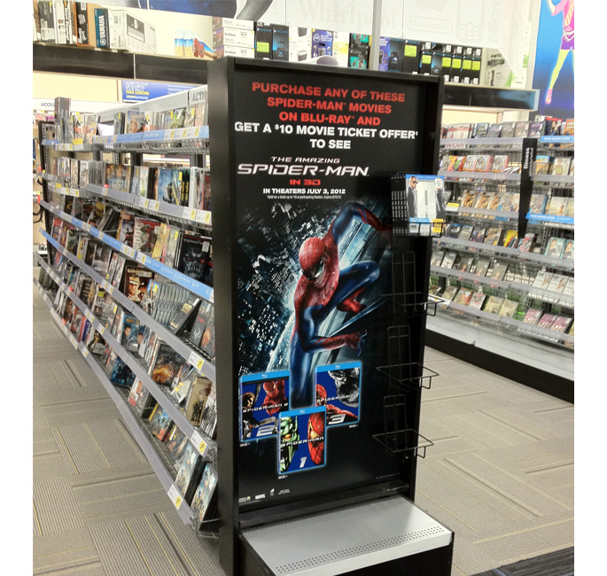 Amazing Spider-Man End Cap