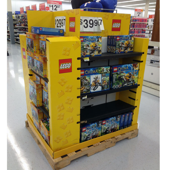 Lego Pallet Display