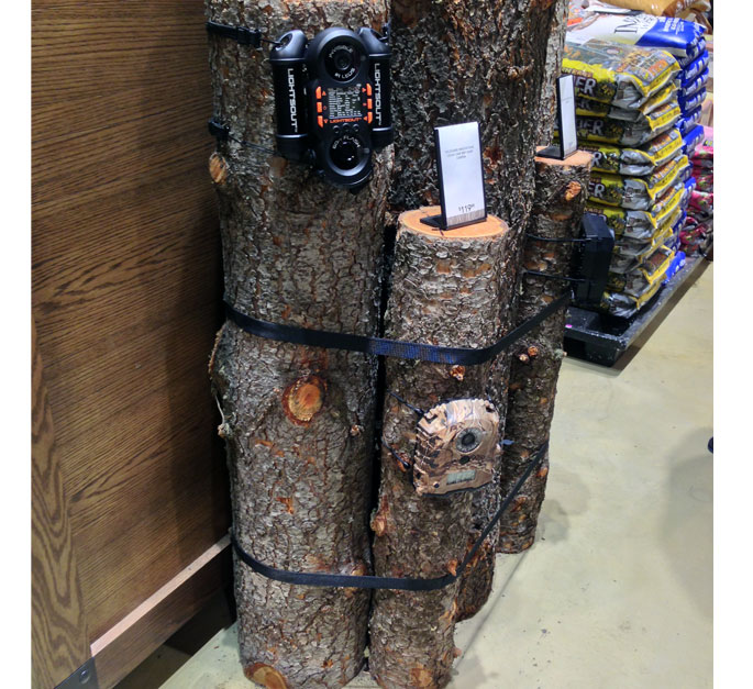 Trail Camera Floor Display