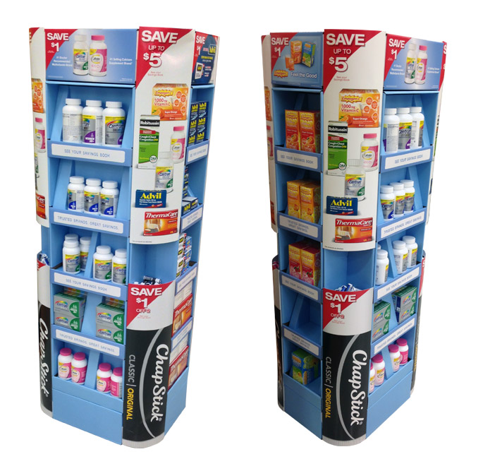 Multi-Brand Floor Display