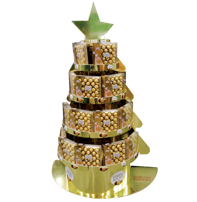 Ferrero Rocher Holiday Candy Tree