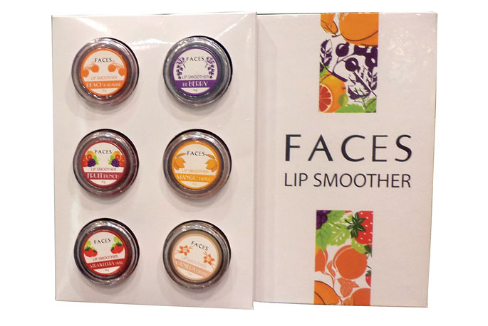 Faces Lip Smoother Display