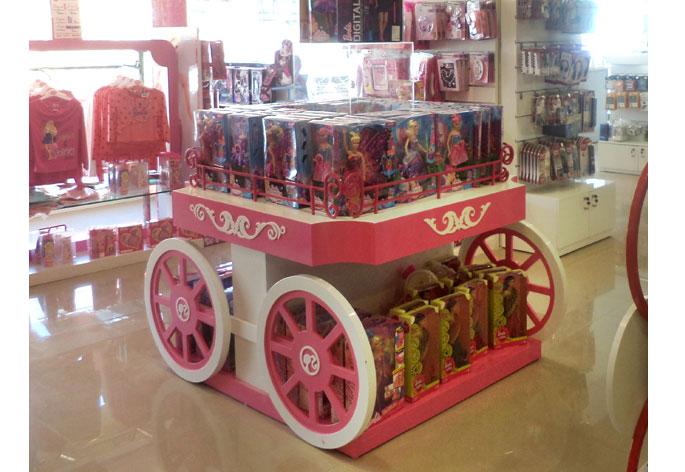Barbie Carriage Floor Display