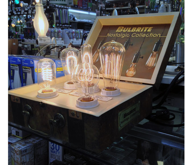 Bulbrite Counter Display