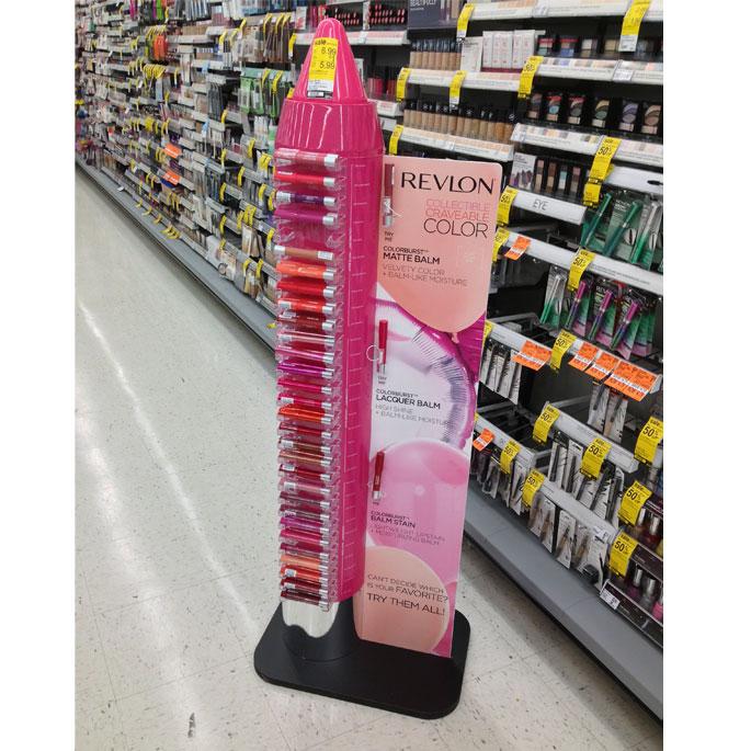 Revlon Color Floor Display