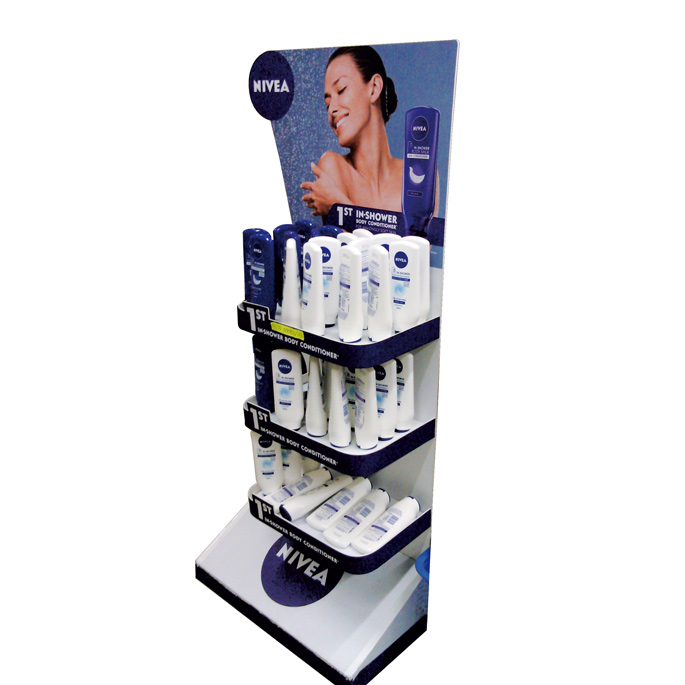 Nivea Shower Floor Display