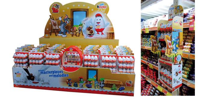 Kinder Joy Floor Display