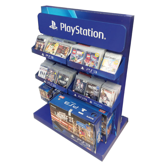 Sony Play Station Floor Display