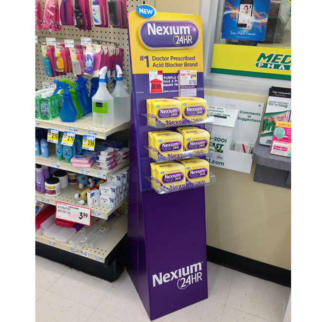 Nexium Floor Display