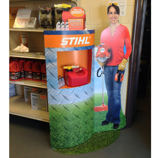 Stihl Floor Display
