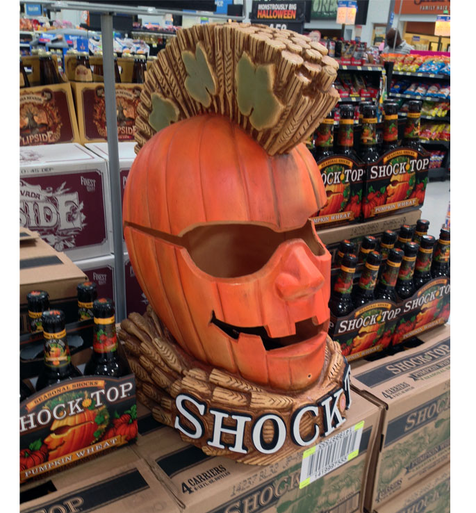 Shock Top Pumpkin Stacker