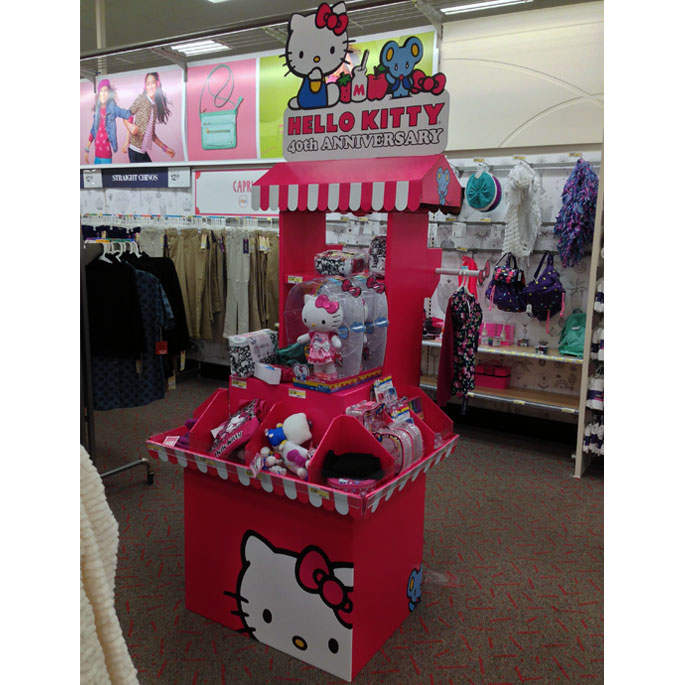Hello Kitty Anniversary Floor Display