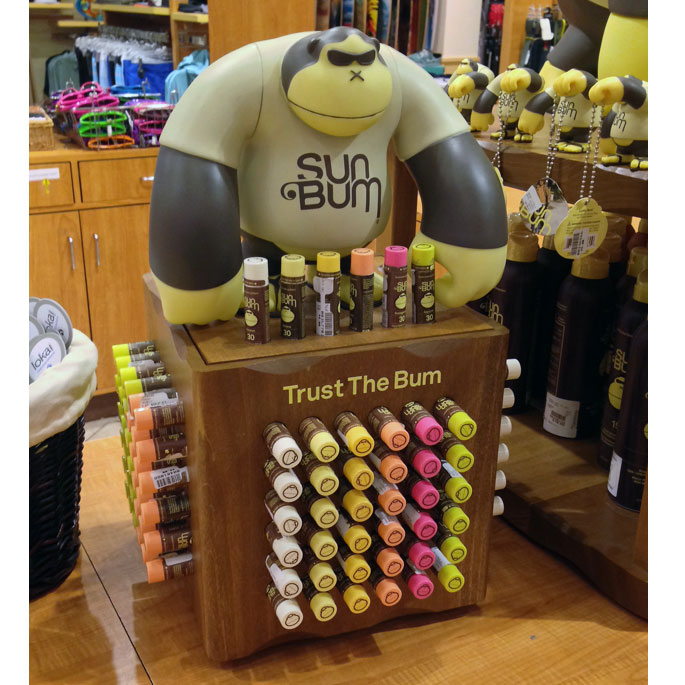 Sun Bum Counter Display