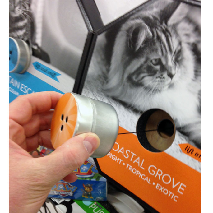 Purina Cat Litter End Cap Display