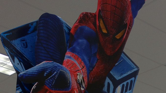 Amazing Spider-Man Retail Displays