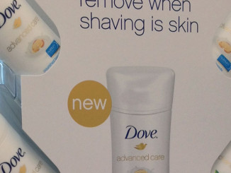 Dove Advanced Care Counter Display