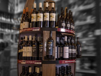 Treasury Wines Estates Floor Display
