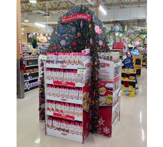 Pepperidge Farm Holiday Tree Display