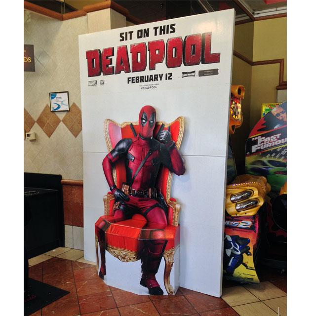 Deadpool Movie Floor Display
