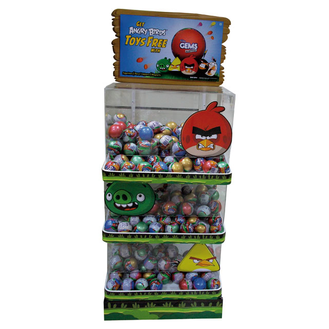 Angry Bird End Cap Display