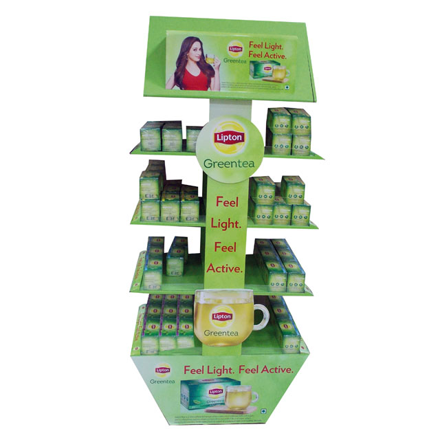 Lipton Feel Light Floor Display