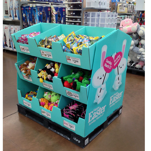 Happy Easter Pallet Bins