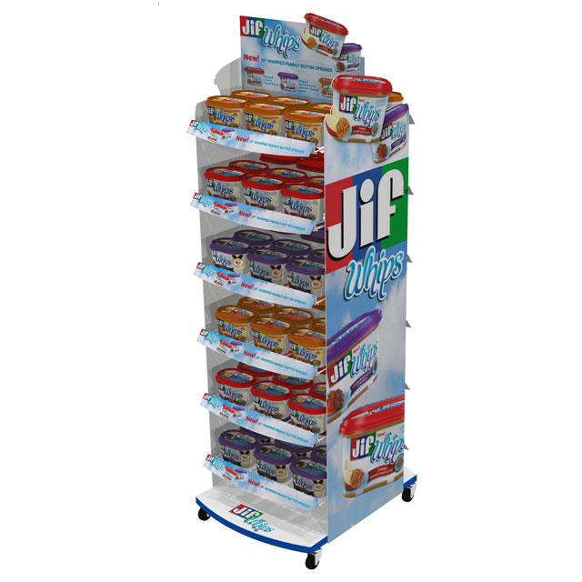 Jif Whips Floor Display