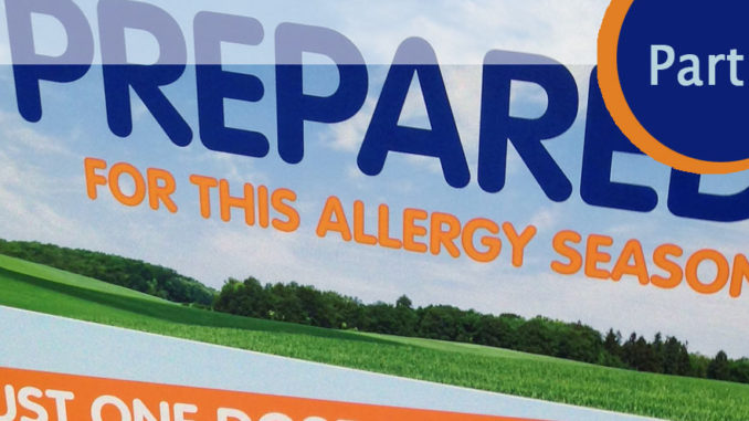 2016 Allergy Review - Part 2