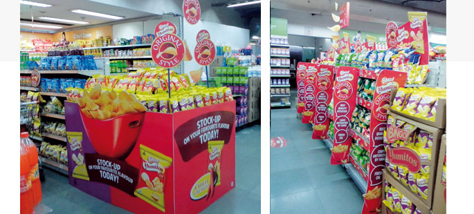 Bingo! Yumitos In Store Displays