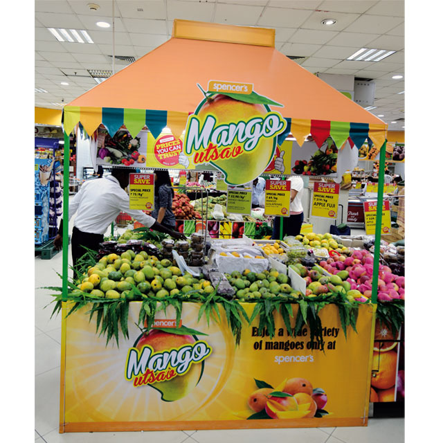 Mango Mania Fruit Shack Display