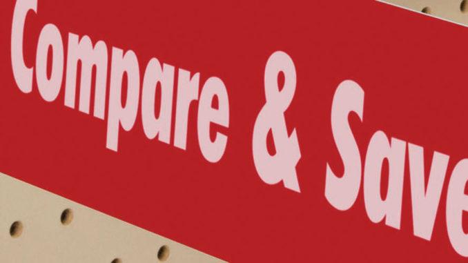 SuperGrip Header Sign Holder from FFR Merchandising