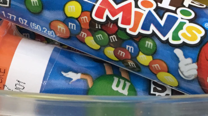 M&Ms Side Kick Display