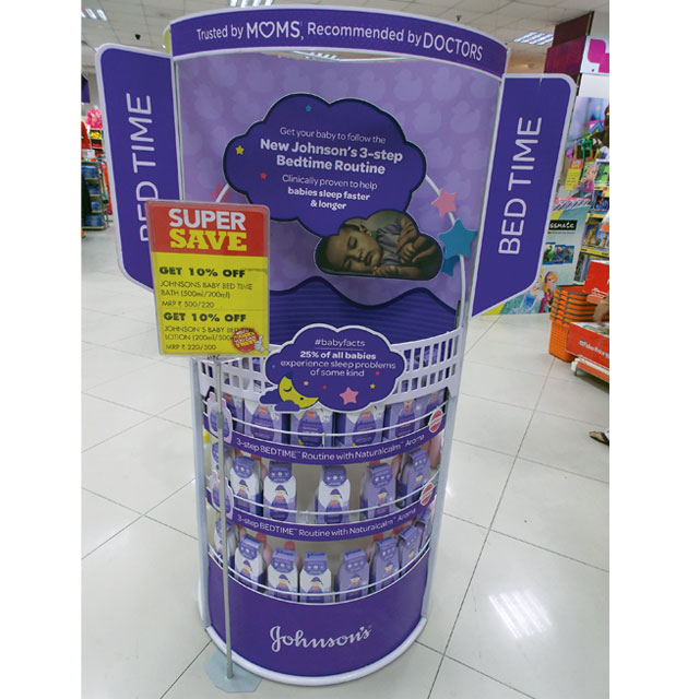 Johnson & Johnson Floor Display