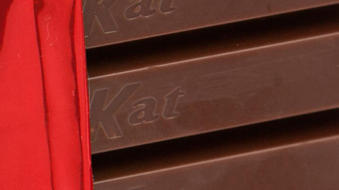 Kit Kat Counter Display