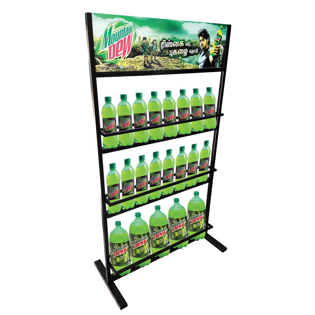 Mountain Dew Floor Display