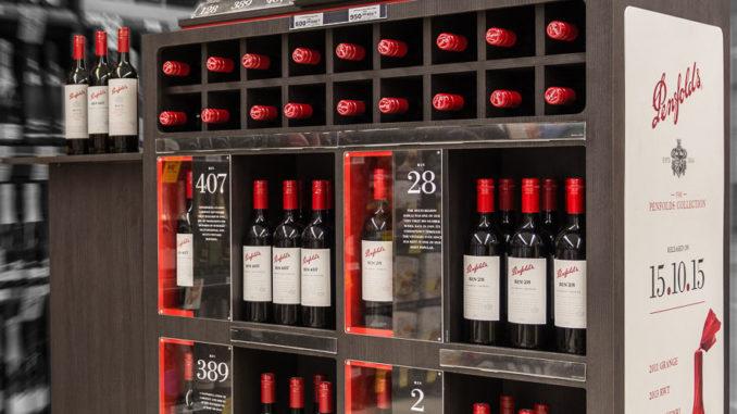 Treasury Wines Estates Display